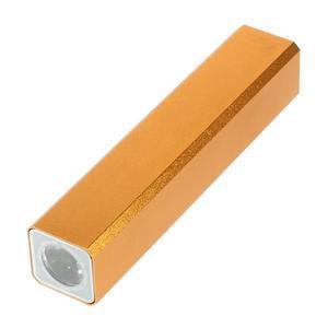 GTX kovová externí nabíjačka 2 600 mAh - oranžová - 3