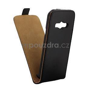 Flipové puzdro na Samsung Galaxy Xcover 3 - čierné - 3