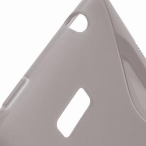 Gélové S-line puzdro pre HTC Desire 600- šedé - 3