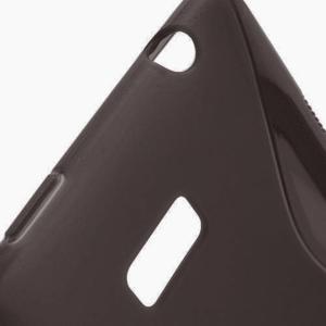 Gélové S-line puzdro pre HTC Desire 600- čierné - 3