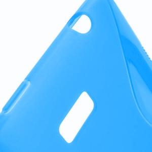 Gélové S-line puzdro pre HTC Desire 600- modré - 3