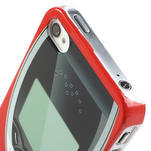 Telefon plastové puzdro na iPhone 4 4S - 3/5