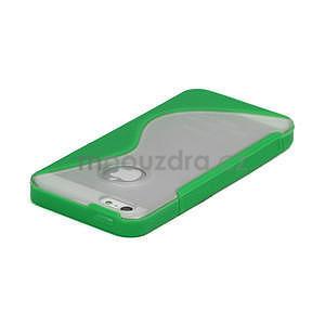 S-line hybrid puzdro pre iPhone 5, 5s- zelené - 3