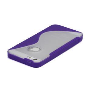 S-line hybrid puzdro pre iPhone 5, 5s- fialové - 3