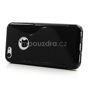 Gélové S-line puzdro pre iPhone 5C- čierné - 3