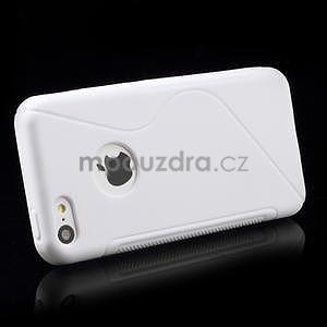 Gélové S-line puzdro pre iPhone 5C- biele - 3