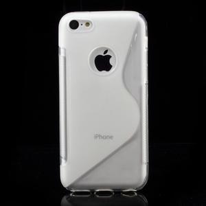 Gélové S-line puzdro pre iPhone 5C- transparentný - 3