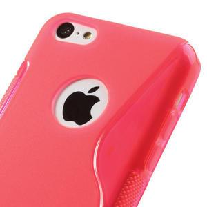 Gélové S-line puzdro pre iPhone 5C- růžové - 3