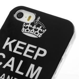 Gélové puzdro na iPhone 5, 5s- zachovat klid - 3