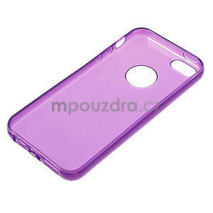 Gel-ultra slim puzdro pre iPhone 5, 5s-fialové - 3
