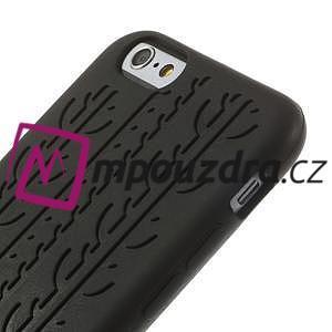 silikónové pneu na iPhone 6, 4.7 - čierné - 3