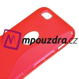 Gélové S-line puzdro na iPhone 6, 4.7 - červené - 3