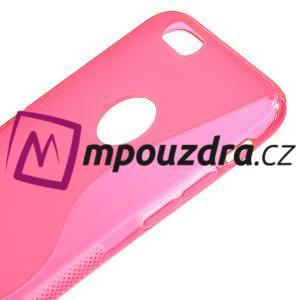 Gélové S-line puzdro na iPhone 6, 4.7 - růžové - 3