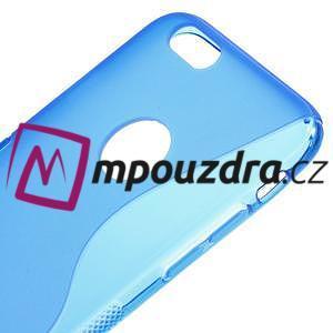 Gélové S-line puzdro pre iPhone 6, 4.7 - modré - 3