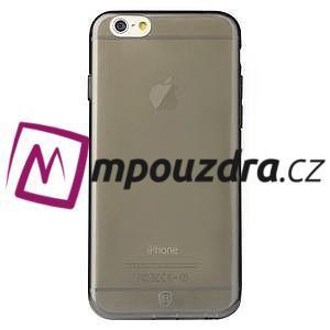 Ultra slim 0.7 mm gélové puzdro na iPhone 6, 4.7  - šedé - 3