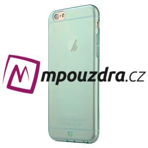 Ultra slim 0.7 mm gélové puzdro pre iPhone 6, 4.7  - modré - 3