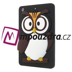Silikonové puzdro na iPad mini 2 - hnědá sova - 3