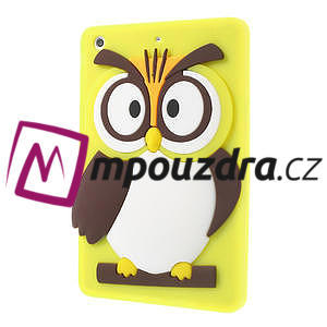 Silikonové puzdro na iPad mini 2 - žltá sova - 3
