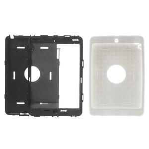 Hybridní kamínkové puzdro pre iPad mini- biele - 3