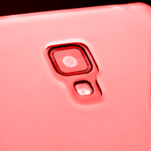 Gélové S-line puzdro pre LG Optimus L7 II P710- červené - 3/4