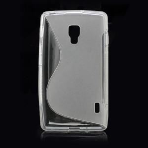 Gélové S-line puzdro pre LG Optimus L7 II P710- šedé - 3
