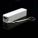 2600mAh externí baterie Power Bank - bílá - 3/6
