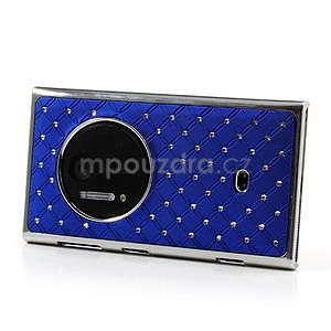 Drahokamové puzdro pre Nokia Lumia 1020- modré - 3