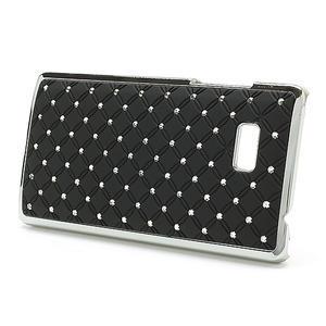 Drahokamové puzdro pre HTC Desire 600- čierné - 3