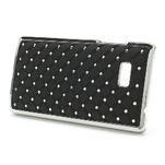 Drahokamové puzdro pre HTC Desire 600- čierné - 3/5