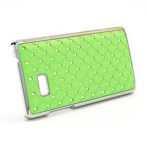 Drahokamové puzdro pre HTC Desire 600- zelené - 3