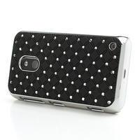 Drahokamové puzdro na Nokia Lumia 620- čierné - 3/6