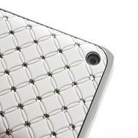 Drahokamové puzdro na Nokia Lumia 620- biele - 3/4
