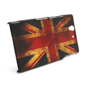 Plastové puzdro na Sony Xperia Z L36i C6603- UK vlajka - 3