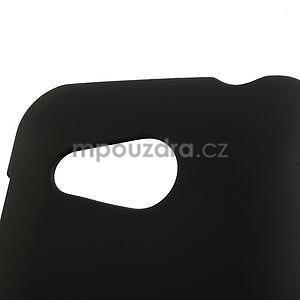 Pogumované puzdro pre HTC Desire 200- čierné - 3