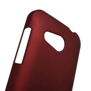Pogumované puzdro pre HTC Desire 200- červené - 3