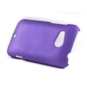 Pogumované puzdro pre HTC Desire 200-fialové - 3