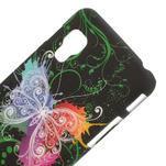 Plastové puzdro pre LG Optimus L5 Dual E455- vlající motýľ - 3/3