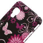 Plastové puzdro pre LG Optimus L5 Dual E455- motýlový květ - 3/3