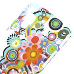 Plastové puzdro pre LG Optimus L5 Dual E455- krásné květiny - 3/3