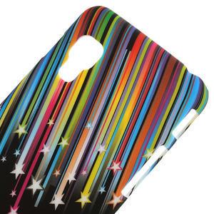 Plastové puzdro pre LG Optimus L5 Dual E455- meteor farebný - 3