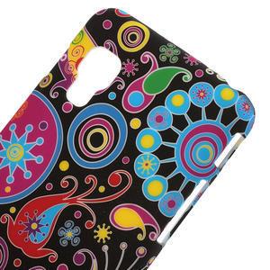 Plastové puzdro pre LG Optimus L5 Dual E455- farebné vzory - 3