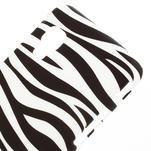 Plastové puzdro pre LG Optimus L5 Dual E455- zebra - 3/3