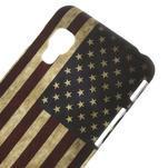 Plastové puzdro pre LG Optimus L5 Dual E455- USA vlajka - 3/3