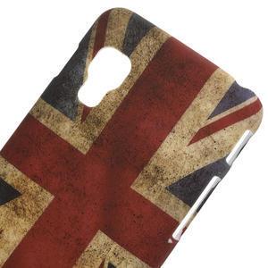 Plastové puzdro pre LG Optimus L5 Dual E455-UK vlajka - 3