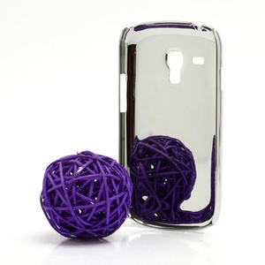Drahokamové puzdro pre Samsung Galaxy S3 mini i8190- svetlo-ružové - 3