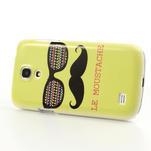 Plastové pouzdro na Samsung Galaxy S4 mini i9190- Le moustache - 3/6