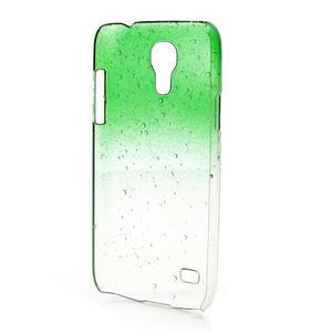 Plastové minerálné puzdro pre Samsung Galaxy S4 mini i9190- zelené - 3