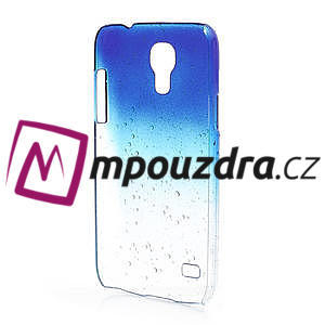 Plastové minerálné puzdro pre Samsung Galaxy S4 mini i9190- modré - 3