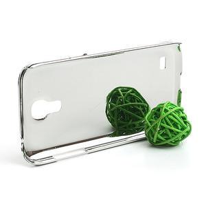Drahokamové puzdro pro Samsung Galaxy S4 mini i9190- svetlomodré - 3