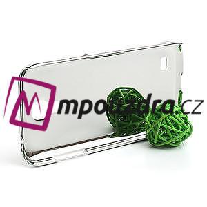Drahokamové puzdro pro Samsung Galaxy S4 mini i9190- fialové - 3
